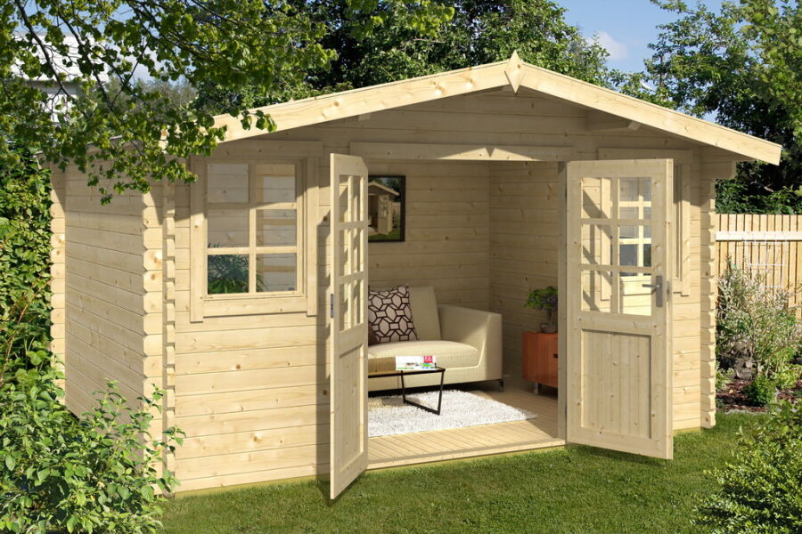 gartenhaus dennis 400 x 400 cm my blog. Black Bedroom Furniture Sets. Home Design Ideas