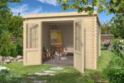 wohnen im garten. Black Bedroom Furniture Sets. Home Design Ideas