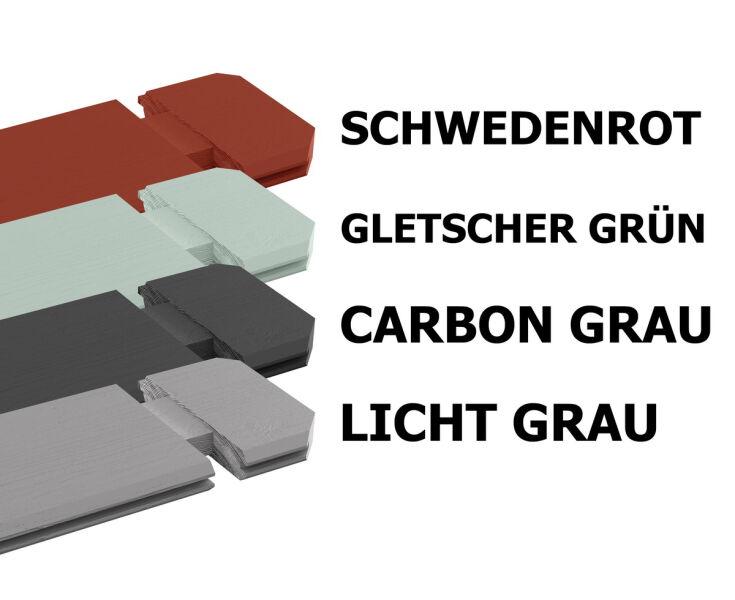 Gartenhaus Mini gartenhaus iso mit boden 44mm bohlen 250x200cm doppeltür 1 589 00