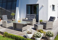 Lounge Comfort Gruppe Roseville grey-white...