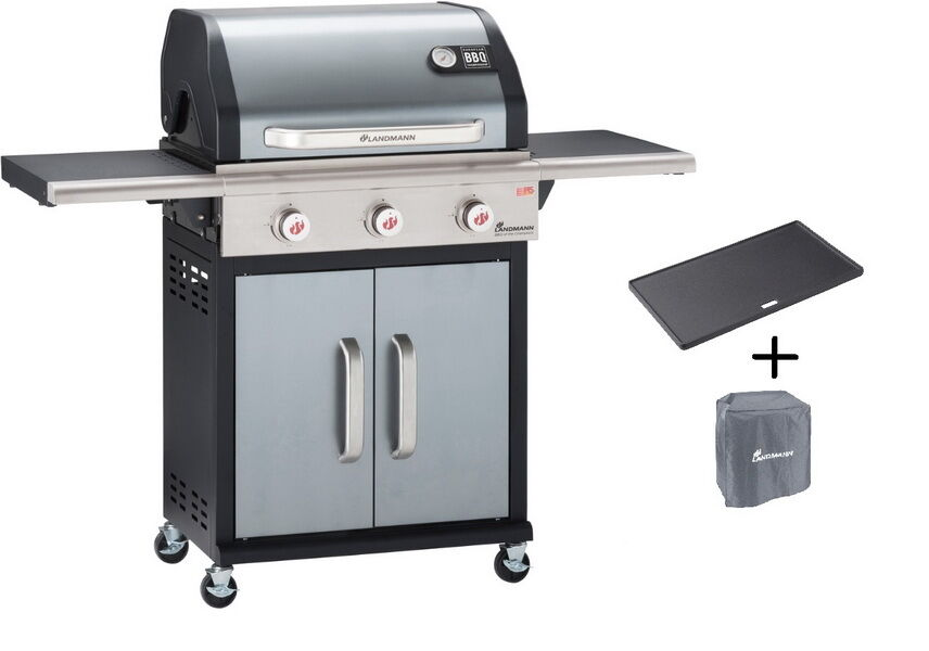 Landmann Holzkohlegrill Gusseisen : Landmann gasgrill premium pts anthrazit barbecue of the champion