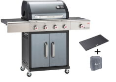 Landmann Gasgrill Premium PTS 4.1 anthrazit, Barbecue of...