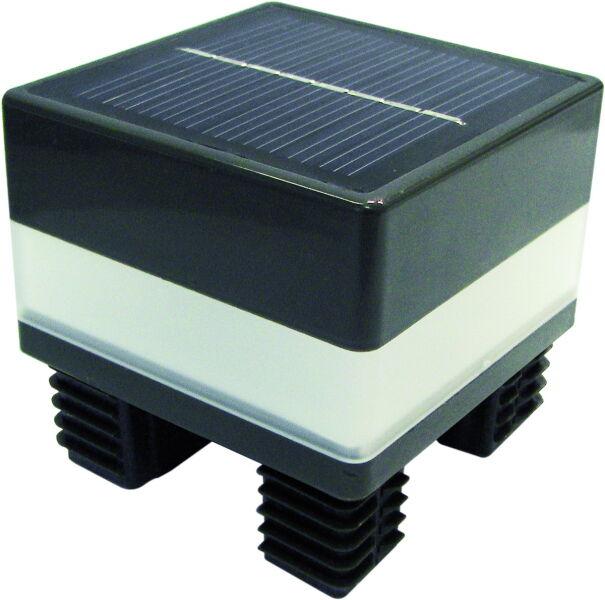 led pfostenbeleuchtung f r aluminium pfosten 68x68mm mit integri. Black Bedroom Furniture Sets. Home Design Ideas