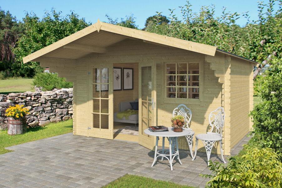 Gartenhaus Fußboden Versiegeln ~ Lasita maja gartenhaus aktion mm cm mit